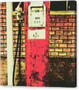 Old Roadhouse Gas Station Canvas Print