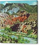 Old Roads To Chama Canvas Print