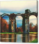 Old Roman Aqueduct Canvas Print
