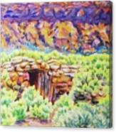 Old Root Cellar Canvas Print