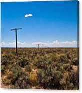 Old Route 66 #5 Canvas Print