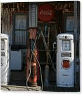 Old Route 66 Gas Station Canvas Print
