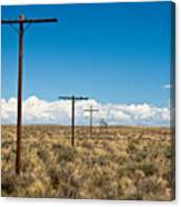 Old Route 66 Canvas Print