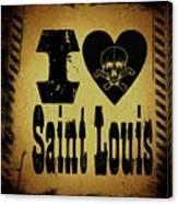 Old Saint Louis Canvas Print