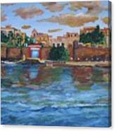 Old San Juan Gate, 4x6 In. Original Is Sold Canvas Print