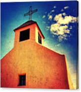 Old Santa Fe Church Canvas Print