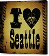Old Seattle Canvas Print