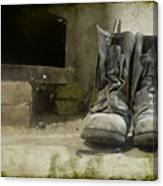 Old Shoes Canvas Print