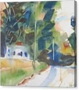 Old Slocum Road Canvas Print