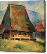 Old Small House Canvas Print