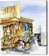 Old Souk Kuwait City Canvas Print