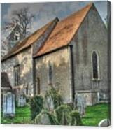 Old St Mary's Walmer Canvas Print