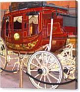 Old Stagecoach - Wells Fargo Inc. Canvas Print