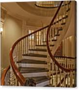 Old State House Spiral Staircase Canvas Print