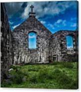 Old Stoer Church Canvas Print