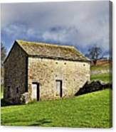 Old Stone Barns Canvas Print