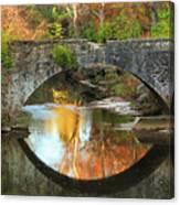 Old Stone Bridge Over Fountain Creek 2 Canvas Print