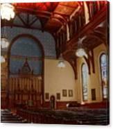 Old Stone Church -2 Canvas Print