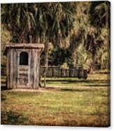 Old Storage Shed Canvas Print