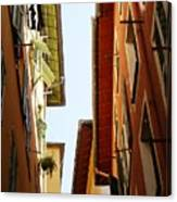 Old Street In Nice Canvas Print