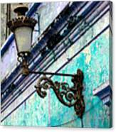 Old Street Lamp By Darian Day Canvas Print