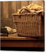 Old Style Laundry Canvas Print