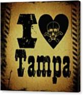 Old Tampa Canvas Print