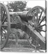 Old Time Cannon Canvas Print