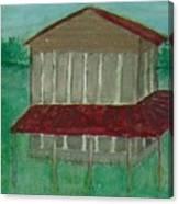 Old Tobacco Barn Canvas Print