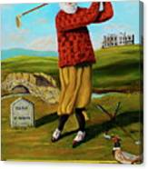 Old Tom Morris Canvas Print