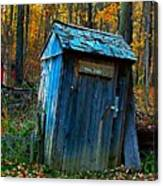 Old Tool Shed Canvas Print
