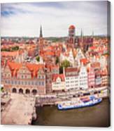 Old Town Gdansk Canvas Print