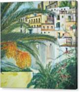 Old Town Ibiza Canvas Print