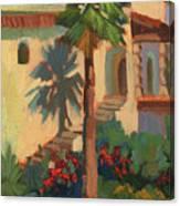 Old Town La Quinta Palm Canvas Print
