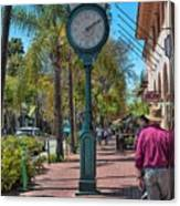 Old Town Santa Barbara Canvas Print