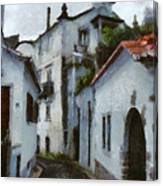 Old Town Street Canvas Print