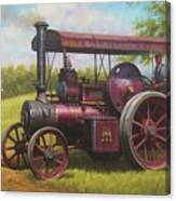 Old Traction Engine. Canvas Print