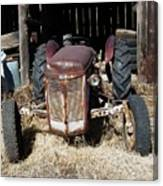 Old Tractor 4 Canvas Print
