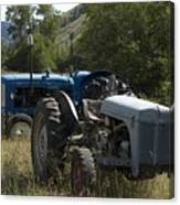 Old Tractor 7 Canvas Print