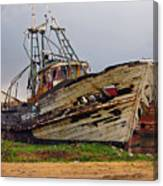 Old Trawler Canvas Print