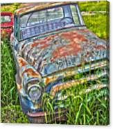 001 - Old Trucks Canvas Print