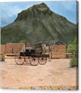 Old Tucson Canvas Print