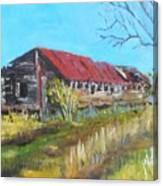 Old Turkey House Canvas Print