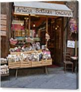 Old Tuscan Deli Canvas Print