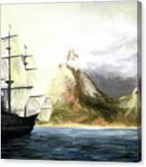 Old Vessel Canvas Print