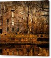 Old Village - Allaire State Park Canvas Print