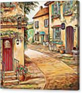 Old Village 3 Canvas Print