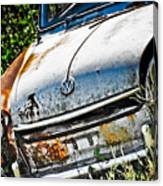 Old Vw Canvas Print