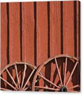 Old Wagon Wheels IIi Canvas Print