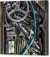 Old Washing Machine Works Canvas Print